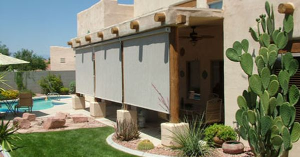 Do It Yourself Home Design: Do It Yourself Patio Shades, DIY Retractable Solar Screen