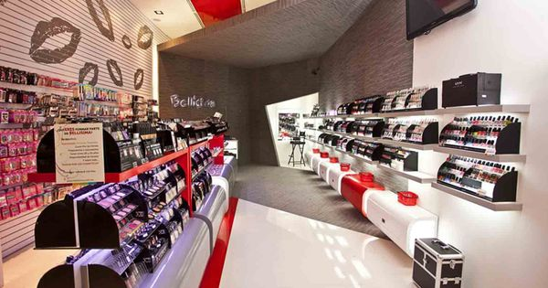 Bell sima beauty shop by arquitectos interiores - Arquitecto de interiores ...