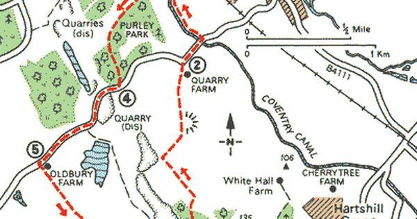 Hartshill Hayes Country Park Nuneaton Warwickshire Uk Dogwalk