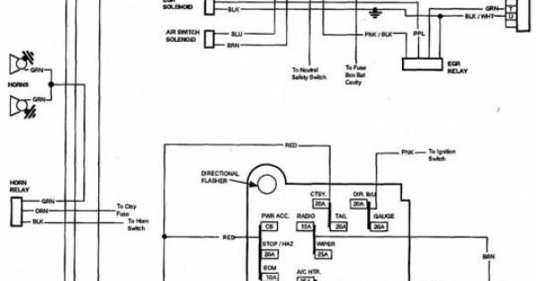 1981 c10 wiring diagram 85 chevy truck wiring diagram | chevrolet truck v8 1981 ... #8