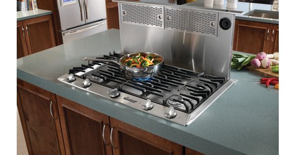 Pop Up Ventilation For Gas Stoves In Kitchen Islands