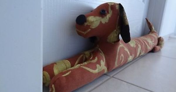 Dog Door Draft Stopper E Pattern Sew Your Own Easy Step