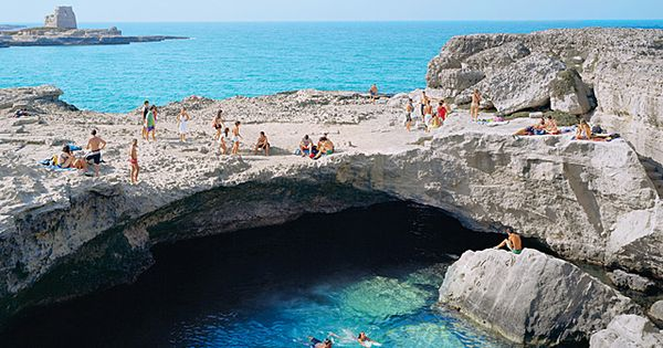 ★♥★ Natural Pool , Roca Vecchia , Italy ★♥★ Piscine naturelle, RocaVecchia