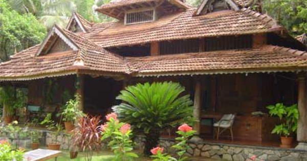 Close To Nature Traditional Kerala House Nalukettu