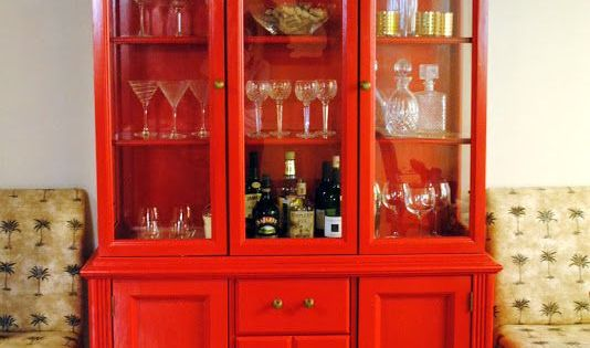 China Cabinet Turned Into A Bar Home Decor Pinterest China Cabinets China And Bar