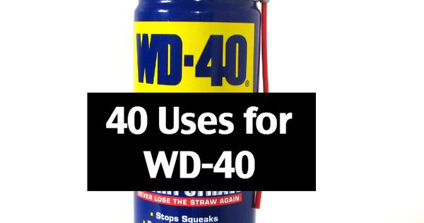 40 amazing uses for wd 40 wd 40 door hinges and doors for Wd 40 fish oil