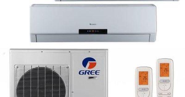 Gree Multi 21 Zone 26000 Btu Ductless Mini Split Air Conditioner With Heat Inverter Remote 230 Volt Multi24hp202 The Home Depot Heat Pump Ductless Mini Split Air Conditioner