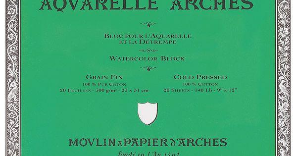 Arches Watercolor Blocks Art Arches Watercolor Paper Watercolor