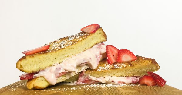 Breakfast sandwiches, Sandwiches and French toast on Pinterest