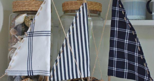 driftwood sailing boats - mamas kram
