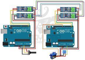 Arduino Rs485 Full Duplex Arduino Rs485 Arduino Arduino Projects