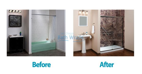 Meet The Bathroom Remodeling Products Services That San Diego Bath Wraps Have For You