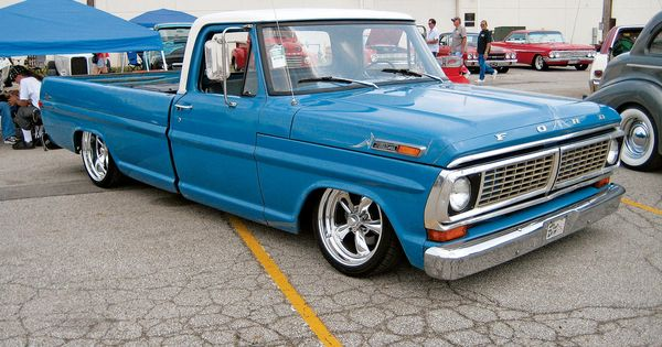 Pics Of Lowered 67 72 Ford Trucks Page 16 Ford Truck