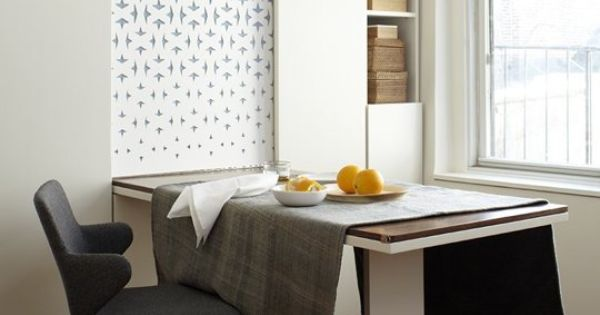 Small space solutions 7 small but stylish eating spots for Eating tables for small spaces