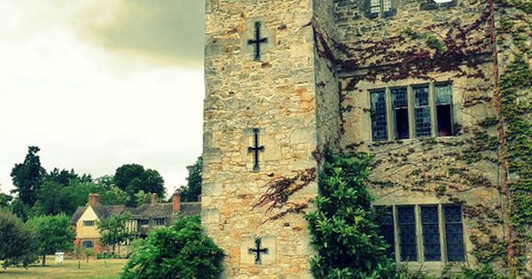 Hever Castle -The family home of Anne Boleyn.south-east of London, England.