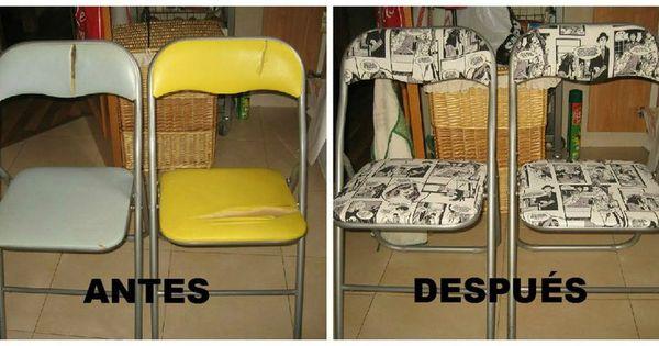 Renueva tus viejas sillas y dales un toque personal for Sillas para viejitos