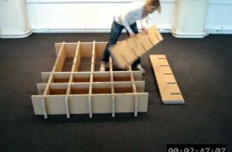 how to make a cardboard cubby house