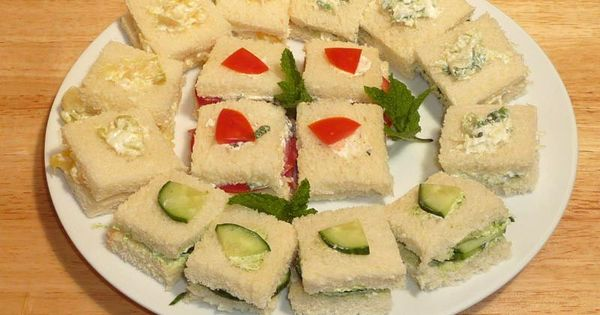 Manjula S Kitchen Finger Sandwiches