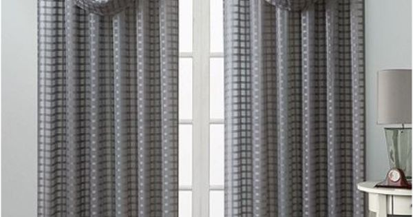 Image Result For Signaturee Marin Faux Silk Taffeta Curtain Panel