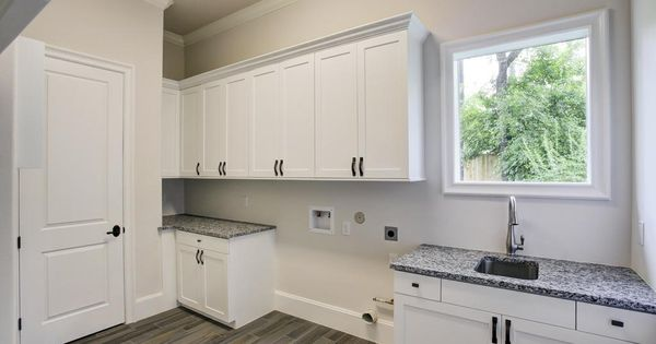 White Sparkle Home Depot Granite With White Shaker Cabinets Rental Property Pinterest