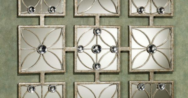 Andalucia Jeweled Mirror Wall Art | Walls, Bath room decor ...