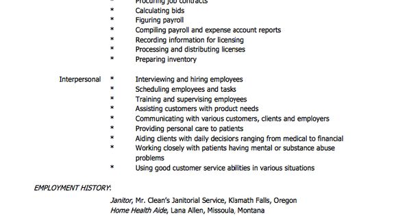 Resume For Home Health Aide - http\/\/resumesdesign\/resume-for - resume for home health aide