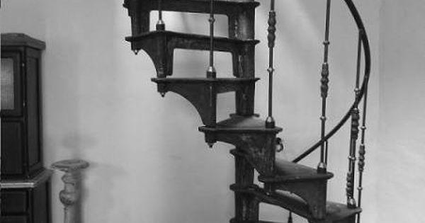 Escalier colimacon en fonte style industriel interiors pinterest escali - Escalier industriel occasion ...