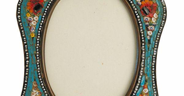 Italian Micro Mosaic Picture Frame Mosaic Pinterest