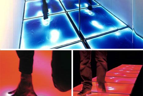 Touch Sensitive Floor Lighting Gadgets Geekery