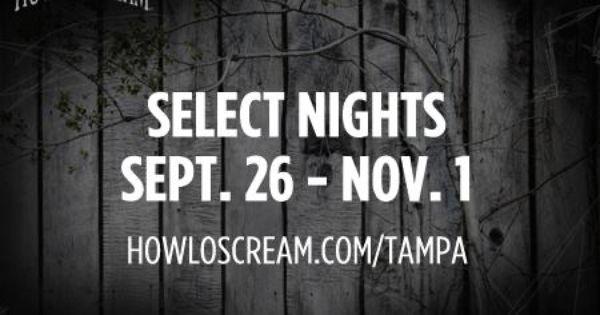Howl o scream 2018 ticket deals
