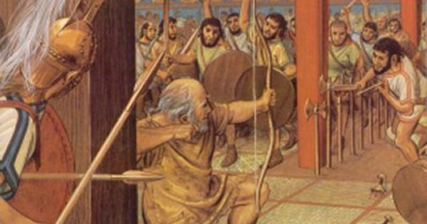 The bow of odysseus