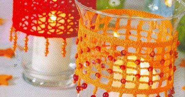 pretty   Crochet-home decor   Pinterest   Crochet and Album