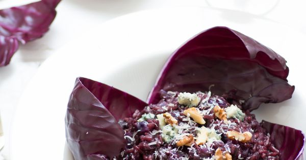 ... gorgonzola/mascarpone | Red cabbage | Pinterest | Risotto and Rouge