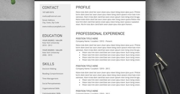 promotion 3 resume templates for 15 usd use coupon code