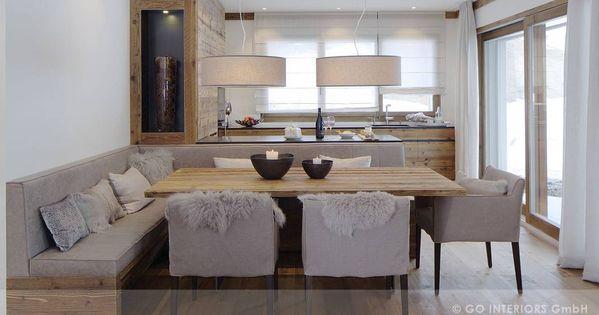 rustikale esszimmer bilder: chalet valbella | interiors, corner, Esszimmer dekoo