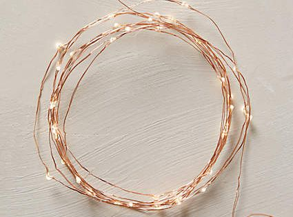 Copper String Lights Anthropologie : aurora copper string lights #anthroregistry Your Anthropologie Registry Pinterest Copper ...