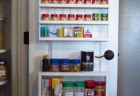 diy pantry spice rack door spice rack hollow core doors