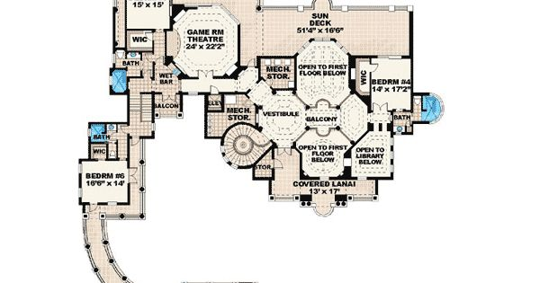 Plan 66024we ultimate dream home sitting area pantry for Ultimate floor plans