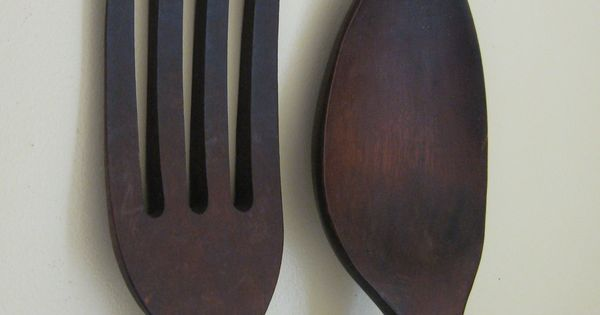 Your Place To Buy And Sell All Things Handmade Wooden Wall Design Kitchen Wall Decor Wooden Fork