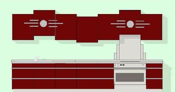 Art deco kitchens new art deco kitchen designs colour for Art deco kitchen designs