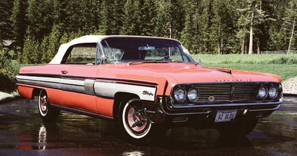 1962 Oldsmobile Starfire Convertible Car Pictures