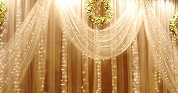 weihnachtsdeko fenster led vorhang eiszapfen lichterkette. Black Bedroom Furniture Sets. Home Design Ideas