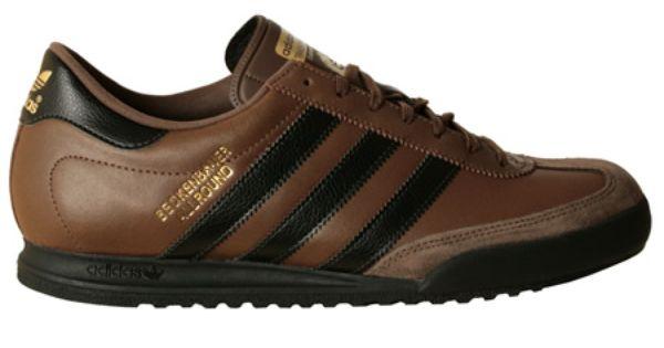Inolvidable dormitar Tomar medicina  New Adidas Beckenbauer Allround Brown Black Leather Trainer | Black leather  trainers, Leather trainers, Adidas