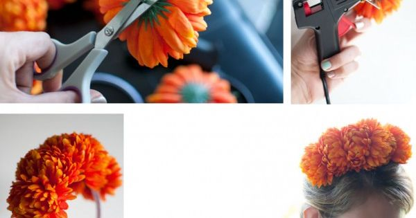 diy flowers for headpieces - Buscar con Google