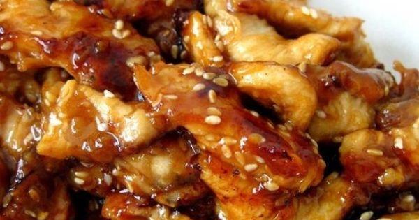 Crock Pot Chicken Teriyaki: chicken (sliced, cubed or however), chicken broth, teriyaki