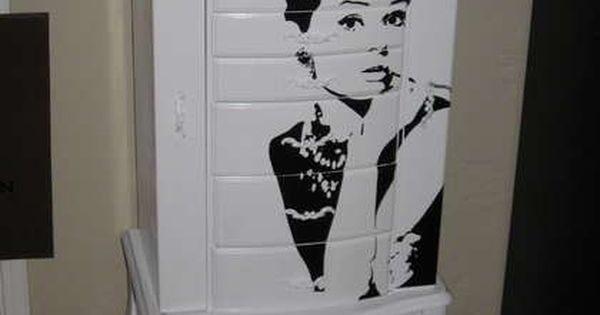 Jewelry armoire makeover, and i have this exact jewelry box to do