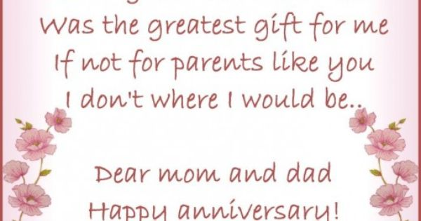 Anniversary Wishes Quotes And Poems For Parents Anniversary Wishes For Parents Anniversary Message Anniversary Quotes For Parents