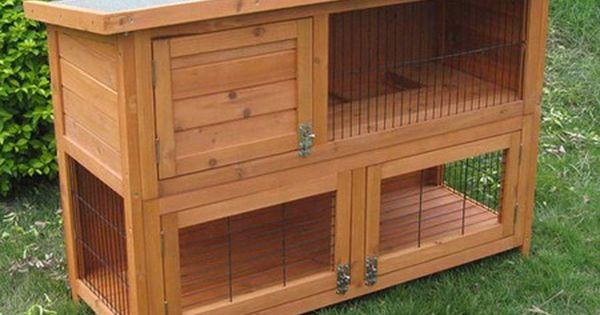 Easy to build rabbit hutch rabbit hutch how to build a for Simple rabbit hutch