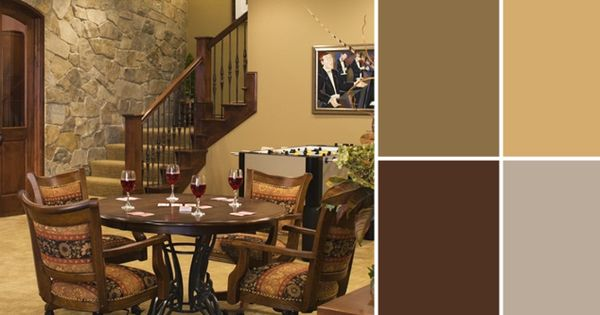 A Palette Guide To Basement Paint Colors Basement Paint Colors Basement Painting And Alder