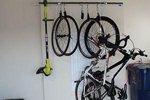 How To Store Your Bike Easy Diy Bike Racks Diy Bike Rack